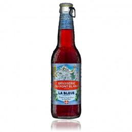Bière du Mont Blanc Bleue