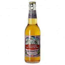 Bière du Mont Blanc Violette