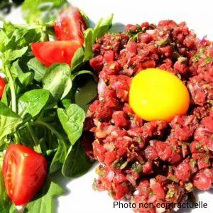 Tartare de Boeuf & Salade